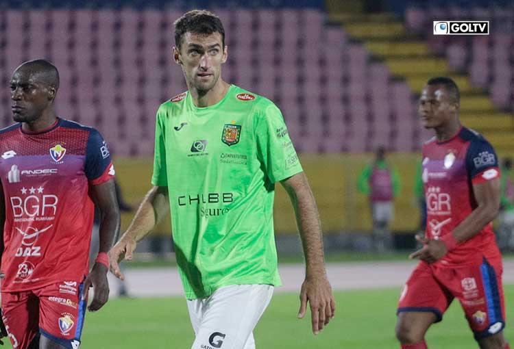 Gustavo Alles lleva 3 goles en 3 partidos jugados con el Deportivo Cuenca