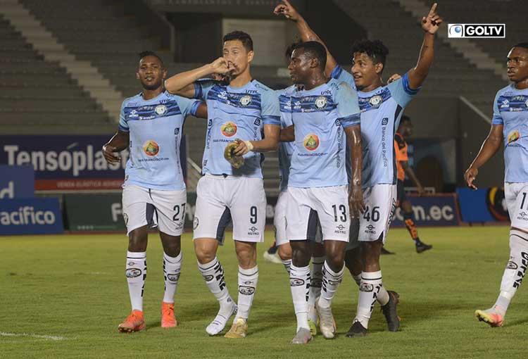 Guayaquil City recibe a Manta en el cierre de la fecha 11