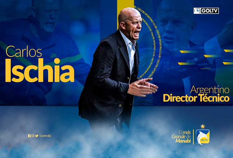 Carlos Ischia es el nuevo entrenador del campeón