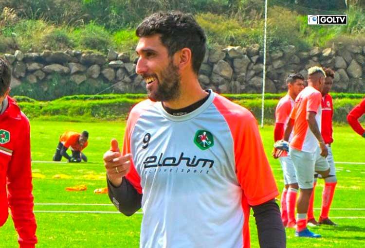 Juan Muriel Orlando disputa su segunda temporada en el fútbol ecuatoriano