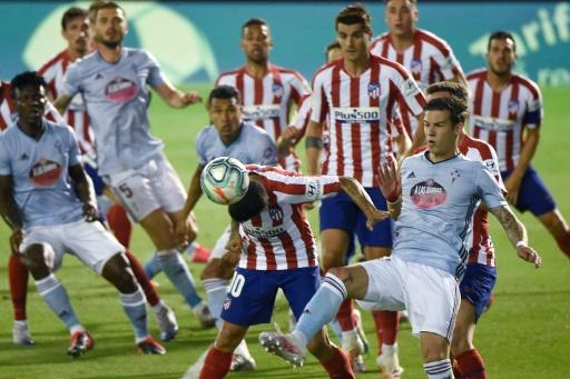 El Atlético tropieza con el Celta en Vigo