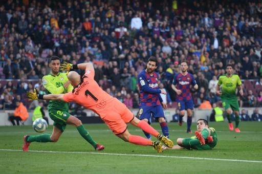 Barcelona se pone líder gracias a Messi y la derrota del Real Madrid