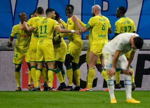 Marsella cae en casa con Nantes y ve alejarse el título