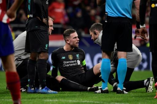 El capitán del Liverpool, Jordan Henderson, es baja para tres semanas