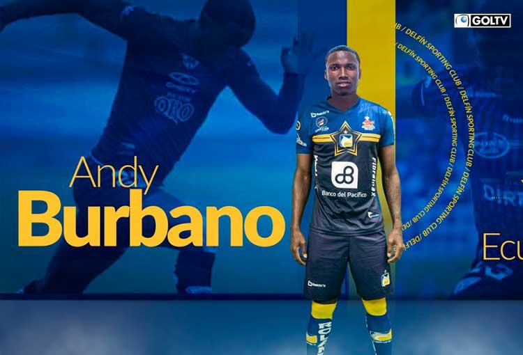 Delfín contrató al defensa Andy Burbano hasta final de temporada