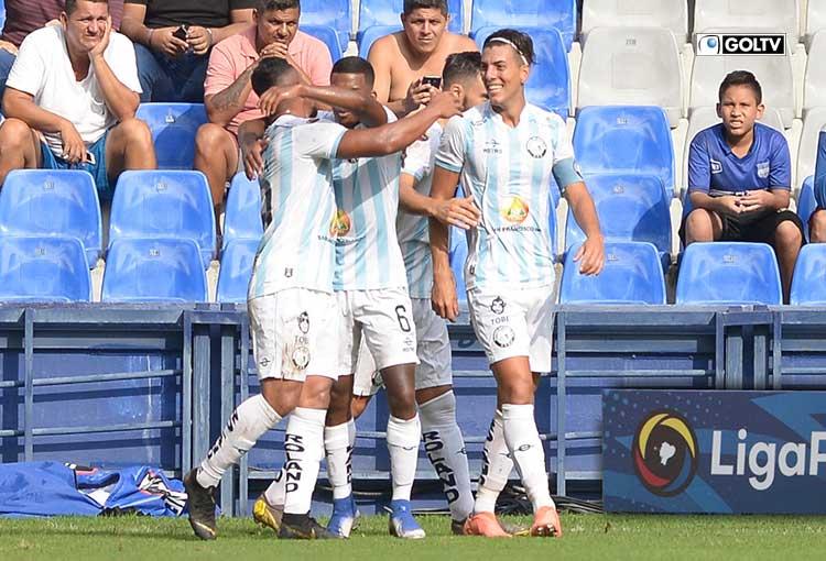 Los jugadores con más remates en Guayaquil City