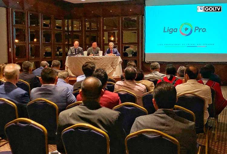 Liga Pro ratificó el formato de competencia inicial del fútbol ecuatoriano