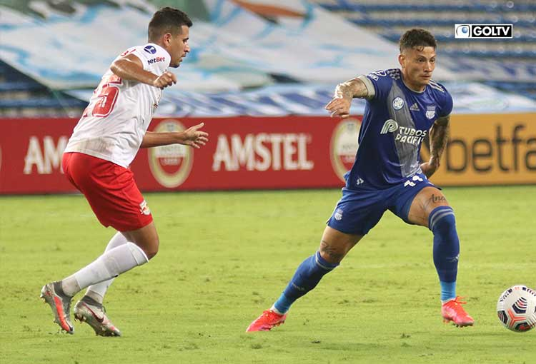 Emelec visita a Bragantino por Copa Sudamericana
