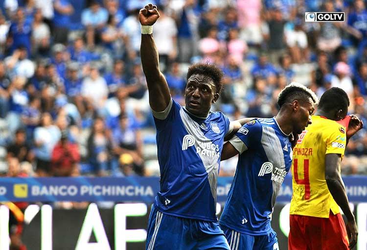 Emelec goleó 4-0 a Aucas con una gran exhibición de fútbol