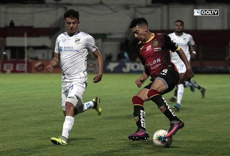 El top 5 de los jugadores con más duelos individuales en el Deportivo Cuenca