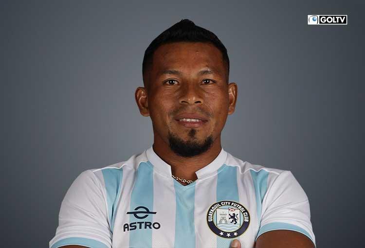 Ángel Gracia, un zurdo de gran pegada en el Guayaquil City