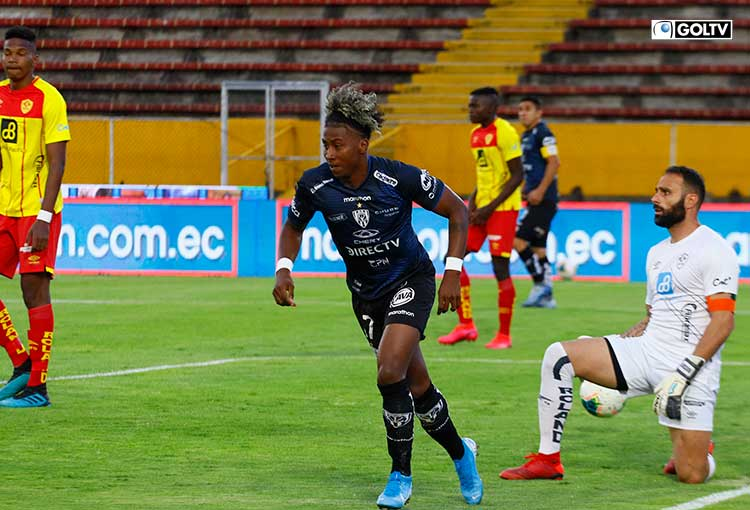 Independiente quiere mantener la punta ante Aucas