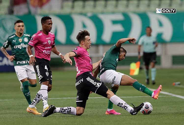 IDV cayó goleado ante Palmeiras por Copa Libertadores