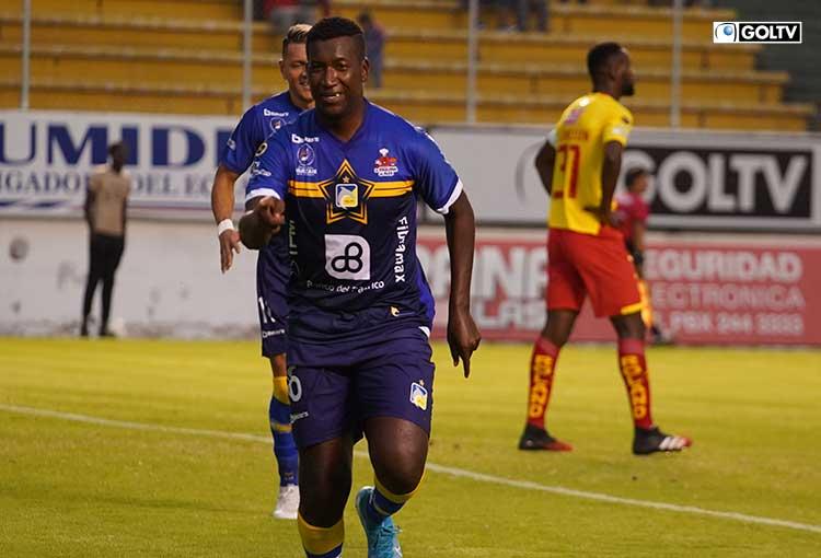 Jhon Cifuente es el segundo máximo goleador del fútbol ecuatoriano en una temporada
