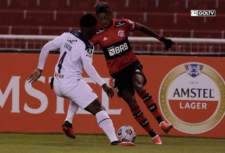 Liga de Quito cayó en casa ante Flamengo por Copa Libertadores