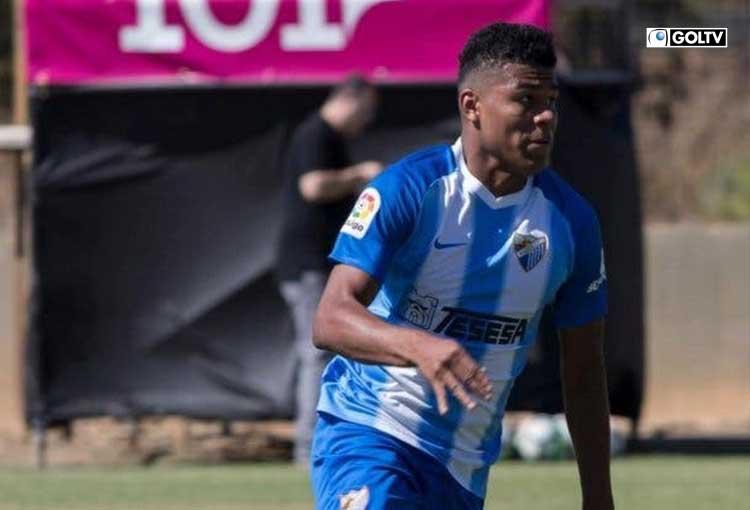 El ecuatoriano, Mike Cevallos fue promovido al primer plantel del Málaga