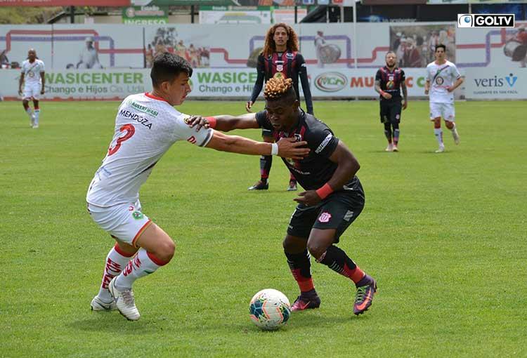 Técnico Universitario rescató un empate ante Mushuc Runa