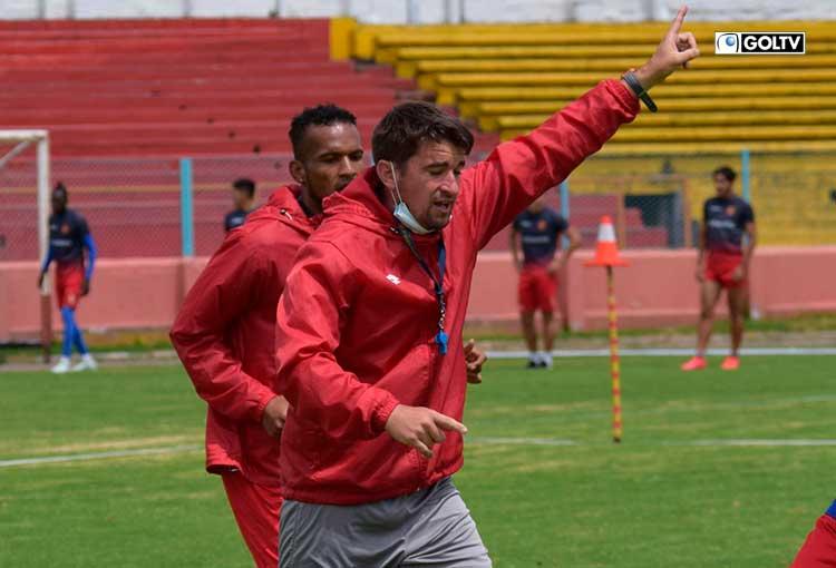 Lucas Ochandorena, AT del Cuenca habló después de la goleada sobre el City