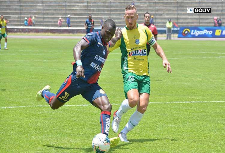 Olmedo y Orense empataron 2-2 en Riobamba