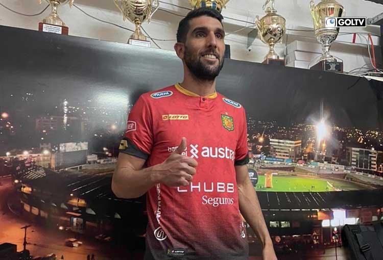 Deportivo Cuenca anunció el fichaje de Muriel Orlando