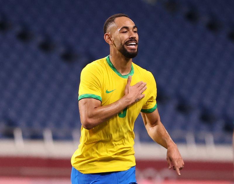 Brasil vence 1-0 a Egipto y pasa a semifinales fútbol masculino; España y Japón también avanzan
