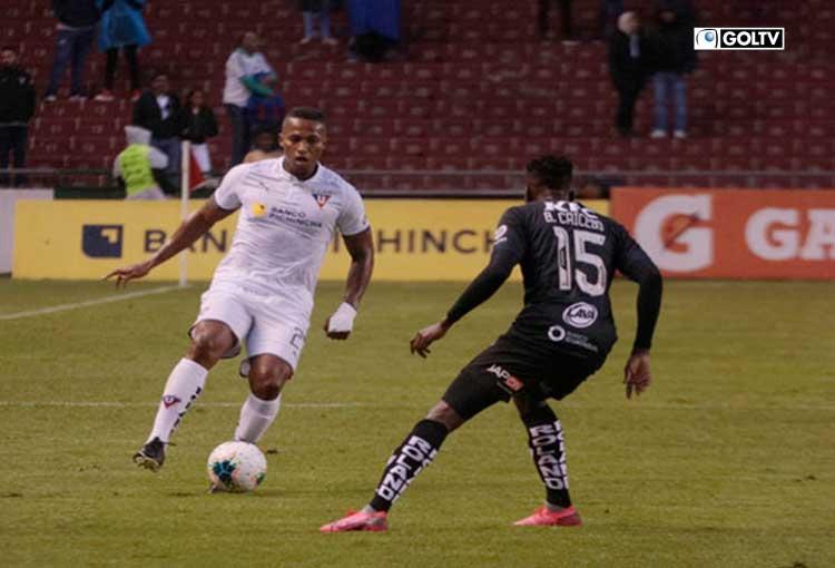 Independiente del Valle salió victorioso en el duelo frente a Liga en el Rodrigo Paz delgado