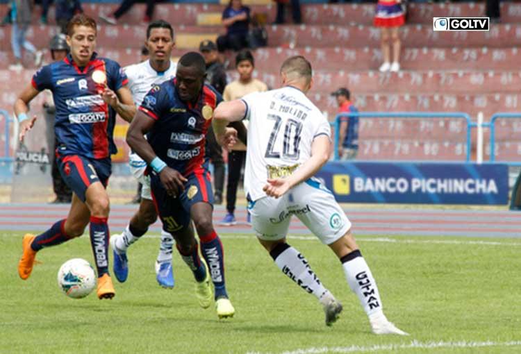 Macará se llevó los 3 puntos en su visita a Riobamba