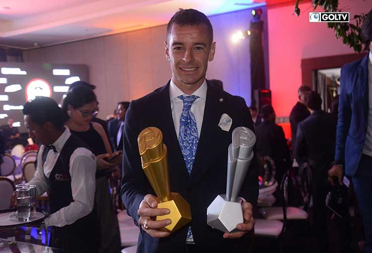 Adrián Gabbarini fue El Pro del fútbol ecuatoriano 2019