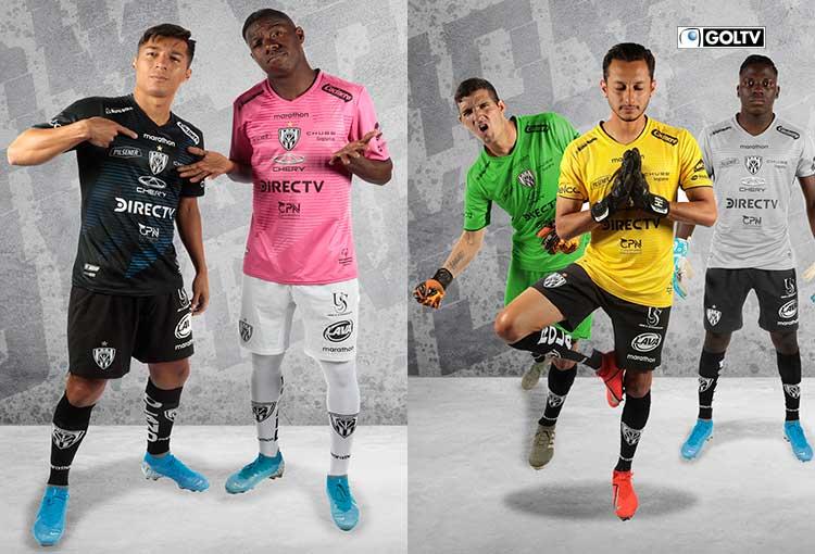 Independiente Del Valle también presentó su nueva indumentaria
