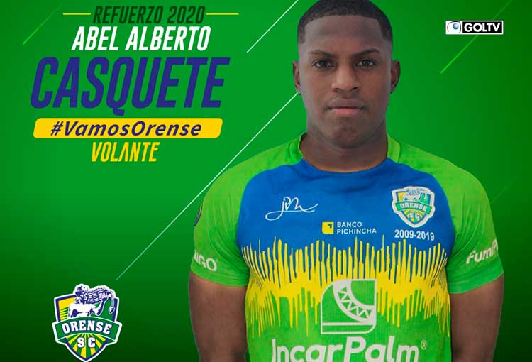Orense SC. se refuerza con un nuevo fichaje nacional