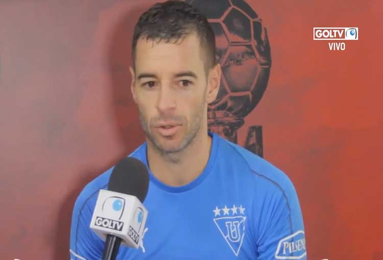 Adrián Gabbarini quiere volver a ser campeón con Liga de Quito
