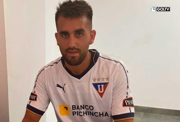 Lucas Villarruel es el sexto extranjero de Liga de Quito