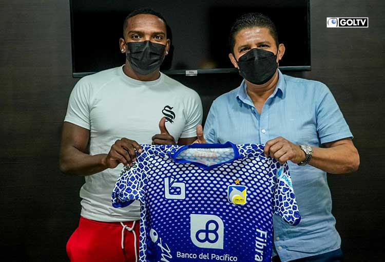Gabriel Corozo es nuevo jugador de Delfín SC