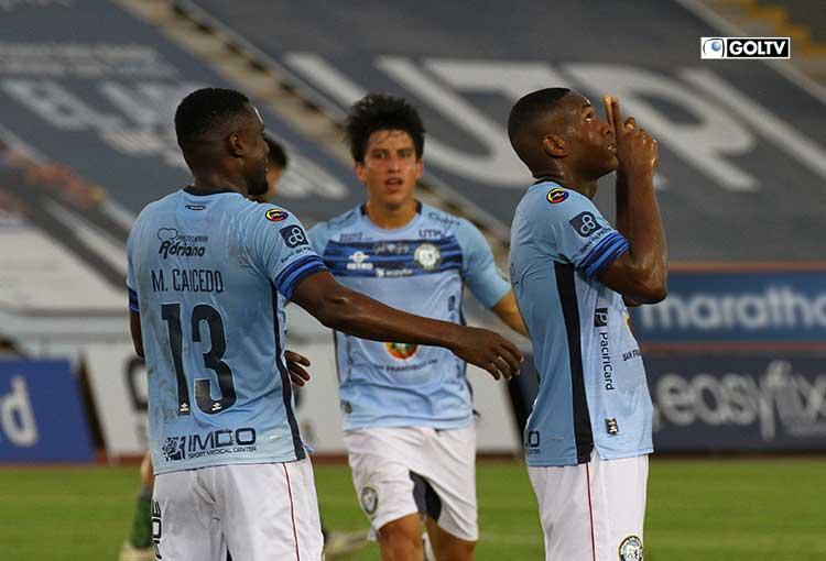Guayaquil City goleó a Orense en el estadio Cristian Benítez
