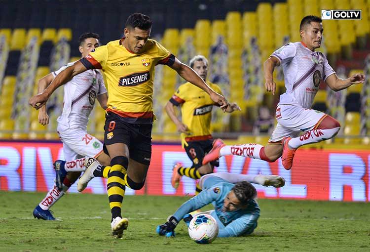 Cristian Colmán quedó descartado en Barcelona SC