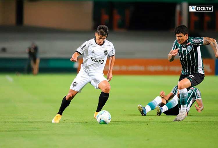 Alan Franco fue titular en la victoria de Atlético Mineiro sobre Coritiba