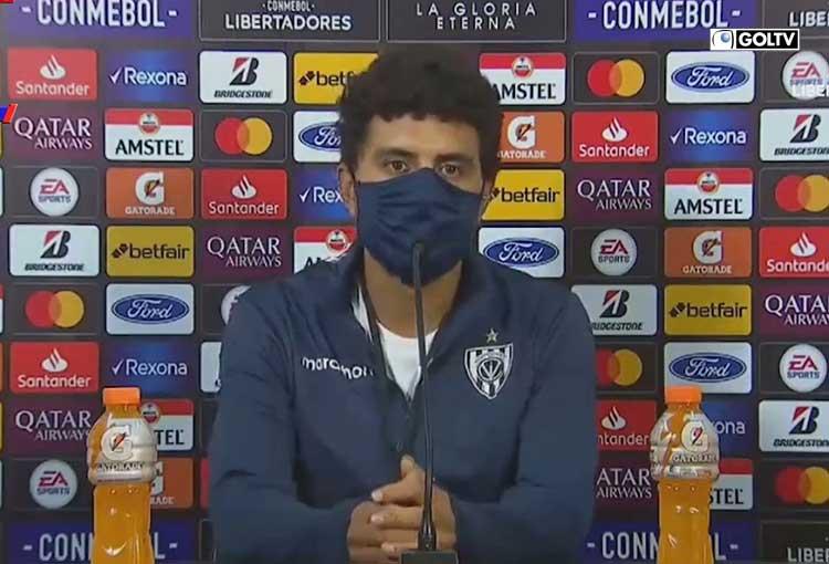 Juan Martínez, AT de Renato Paiva habló en rueda de prensa