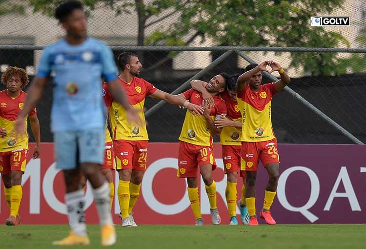 Aucas goleó a Guayaquil City y avanzó a la fase 2 de Copa Sudamericana