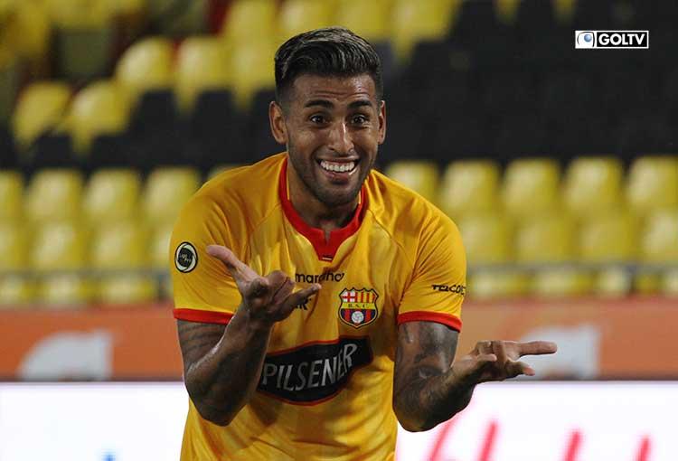 Barcelona goleó a Olmedo y queda a dos puntos del líder Emelec