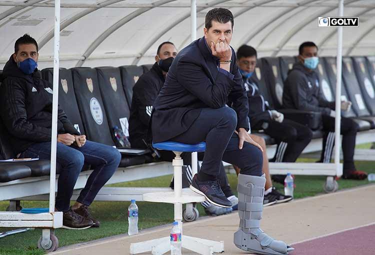 """Ismael Rescalvo: """"Veníamos a ganarlo, pero se convirtió en un partido muy abierto"""""""