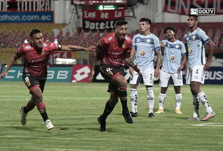 Deportivo Cuenca no podrá contar con Dorregaray para enfrentar a Macará