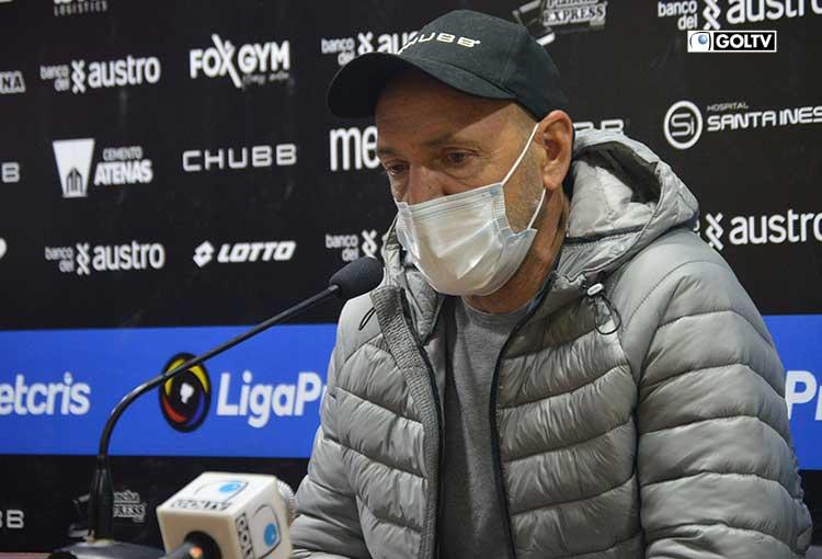 Deportivo Cuenca anunció la salida de Guillermo Duró