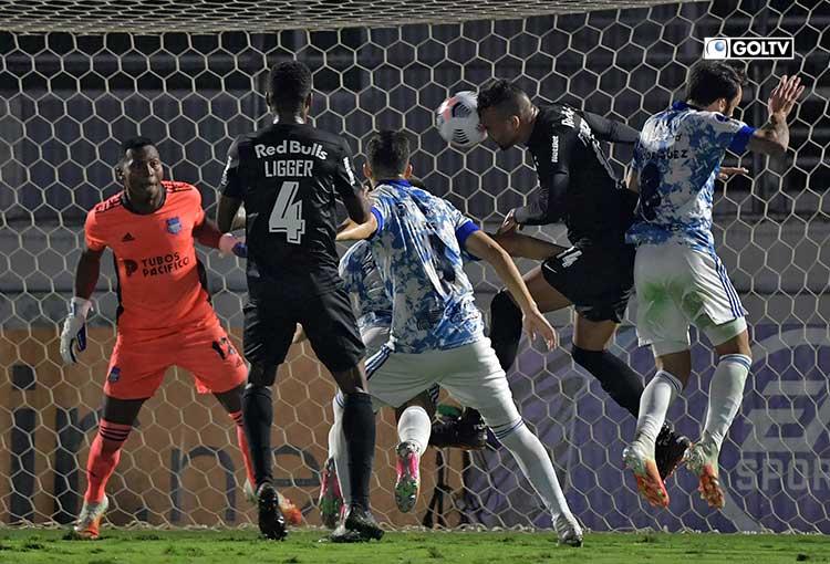 Emelec cayó con Bragantino en Brasil por Copa Sudamericana