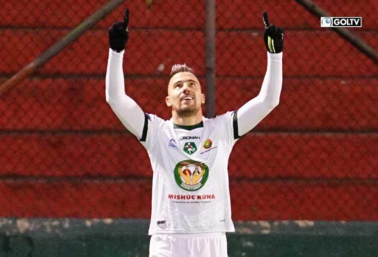 Jonatan Bauman, goleador de Liga Pro tiene ofertas dentro y fuera del país