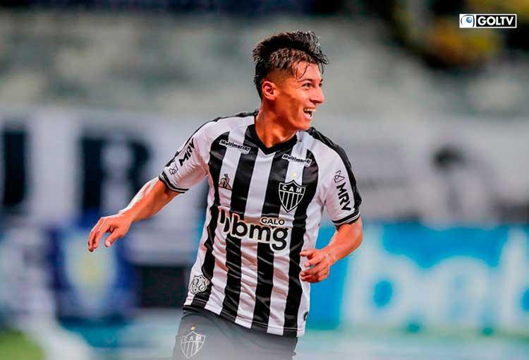 Atlético Mineiro venció al Sao Paulo con doblete del ecuatoriano, Alan Franco