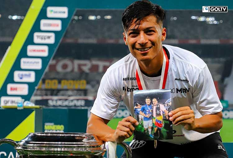 Alan Franco logra su primer título con Atlético Mineiro