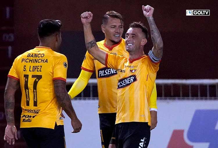Liga Pro eligió a Damián Díaz como el más destacado de marzo
