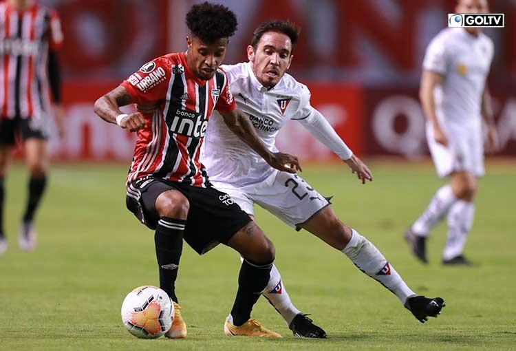 LDUQ goleó, IDV fue goleado y Barcelona se despidió de la Copa Libertadores