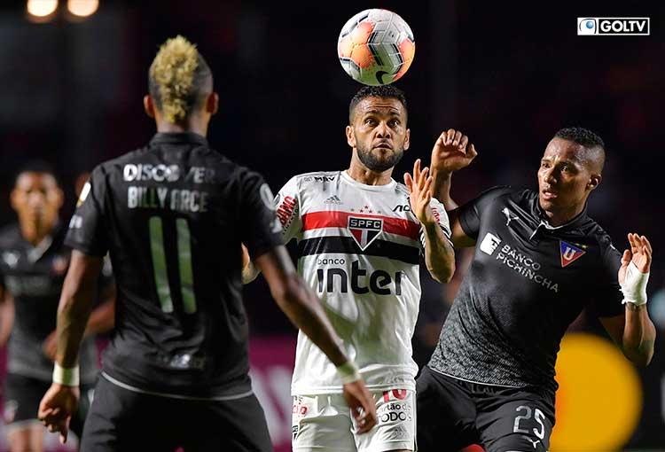 LDUQ recibe al Sao Paulo en medio de la pelea por la primera etapa de Liga Pro Serie A