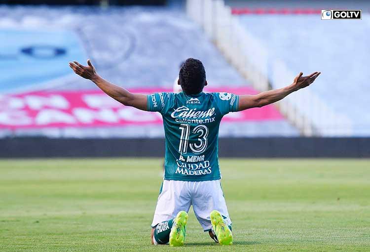 Ángel Mena anotó un gol en la victoria de León sobre el Querétaro